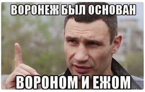 изображение: Воронеж был основан вороном и ежом! #Прикол