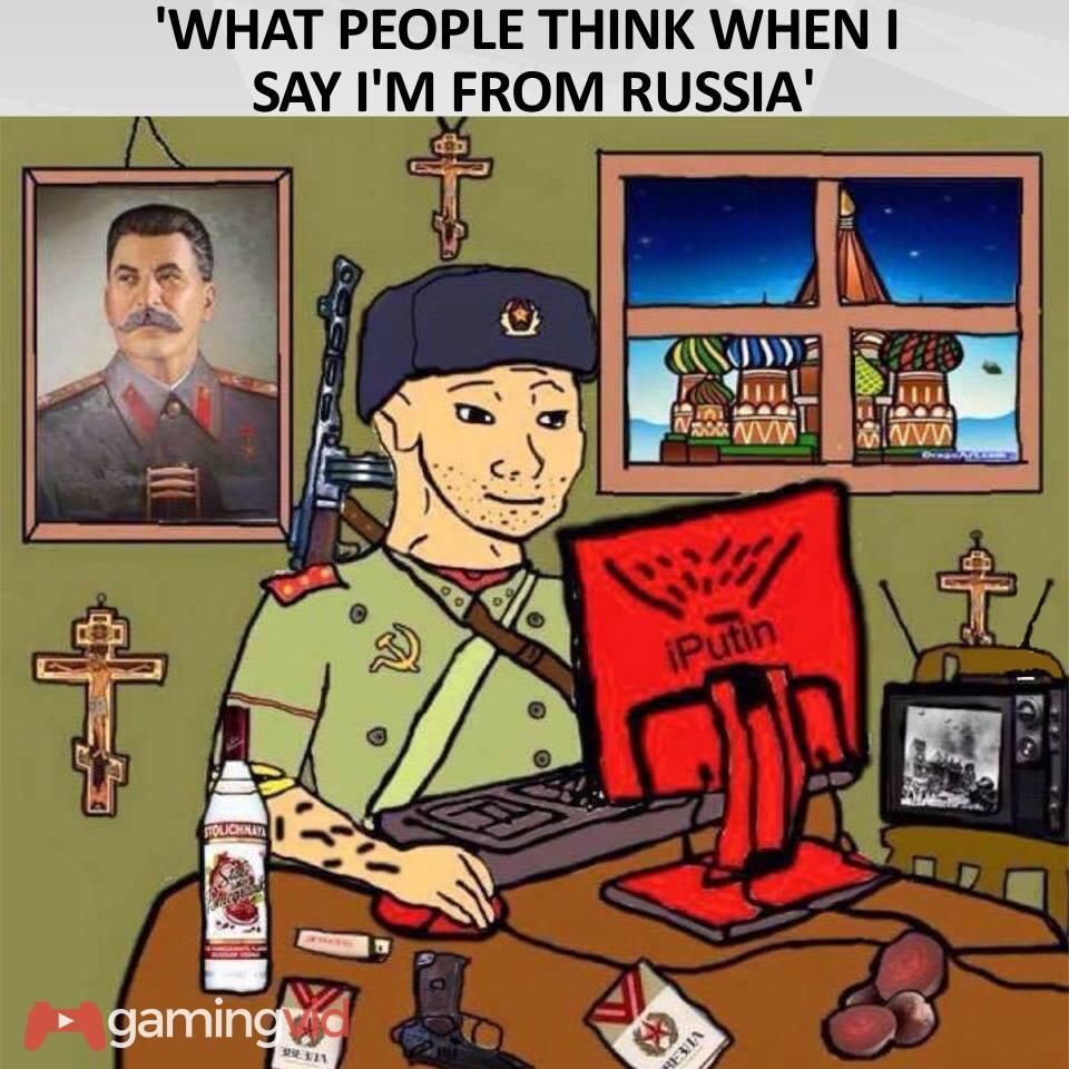 изображение: Что люди думают, когда узнают, что я из России #Прикол