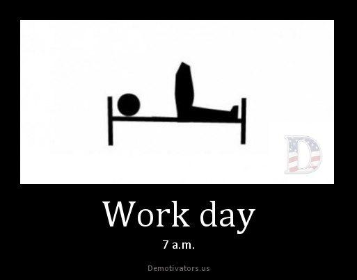 изображение: Как я чувствую себя в в рабочие дни утром #Прикол