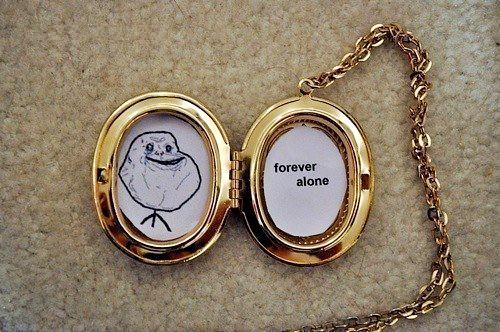 изображение: Forever alone. #Прикол