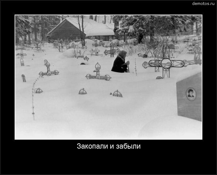 Закопали и забыли #демотиватор